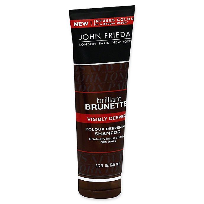 Alternate image 1 for John Frieda Brilliant Brunette® Visibly Deeper 8.3 fl. oz. Colour Deepening Shampoo