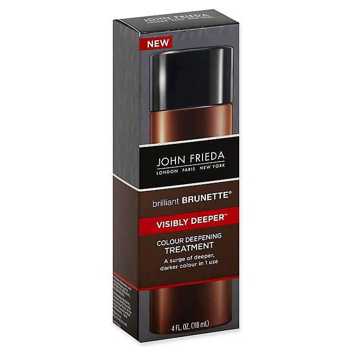 Alternate image 1 for John Frieda Brilliant Brunette® Visibly Deeper 4 fl. oz. Colour Deepening Treatment