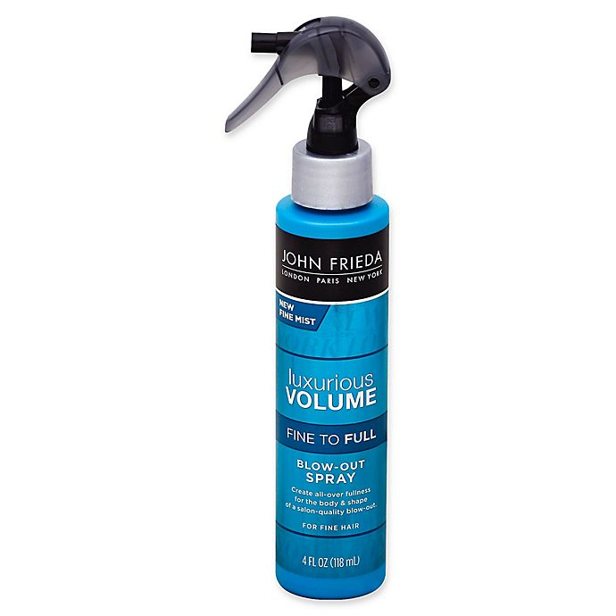 Alternate image 1 for John Frieda Luxurious Volume 4 fl. oz. Blow-Out Spray
