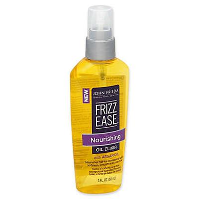 John Frieda® Frizz Ease® 3 fl. oz. Nourishing Oil Elixir with Argan Oil