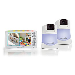 Summer Infant® Side By Side 2.0 5-Inch Color LCD Video Baby Monitor