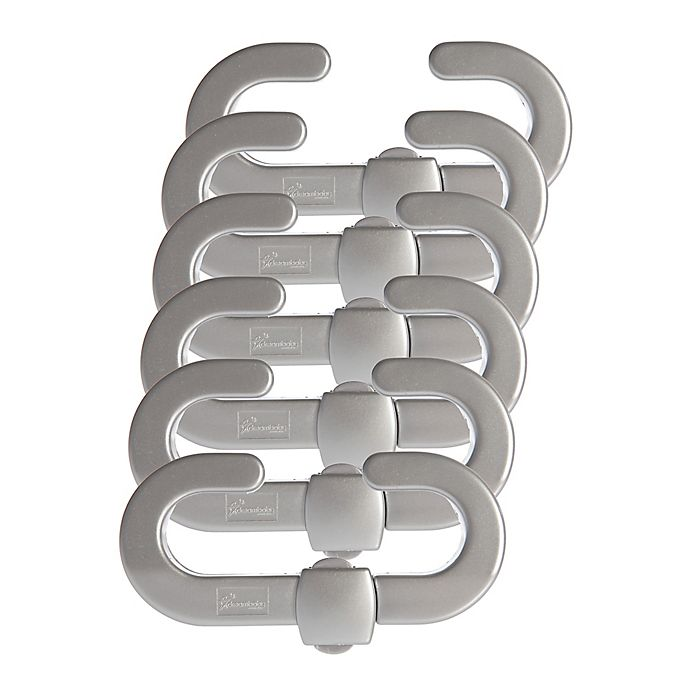 Alternate image 1 for Dreambaby® 6-Pack Secure-A-Lock in Silver