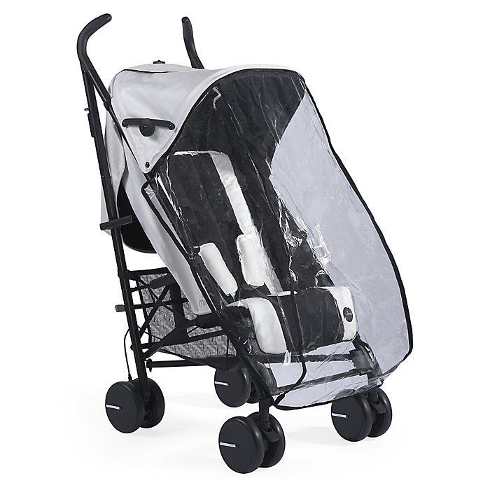 Alternate image 1 for Mima® Bo Stroller Translucent Infant Rain Cover