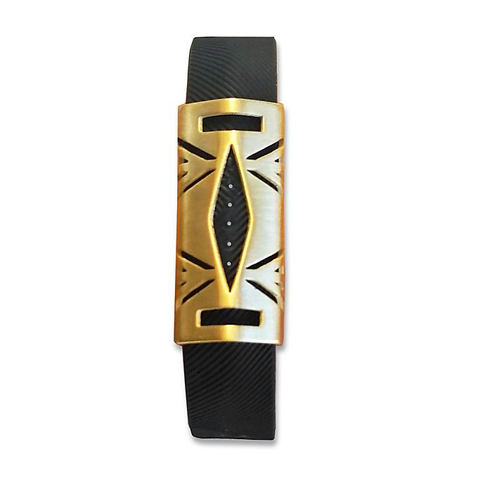 Alternate image 1 for Hayden Cover for Fitbit® Flex 2 in Brushed Gold