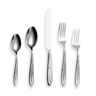 Mikasa® Cocoa Blossom 65 Piece Flatware Set by Bed Bath And Beyond