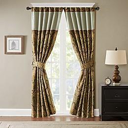 Hampton Hill Canovia Springs Jacquard Rod Pocket Window Curtain Panel