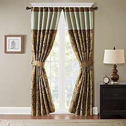 Hampton Hill Canovia Springs Jacquard Rod Pocket Window Curtain Panel (Single)