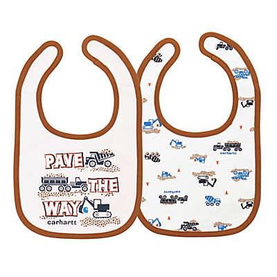 "Carhartt® 2-Pack 'Pave The Way"" Bib in White"