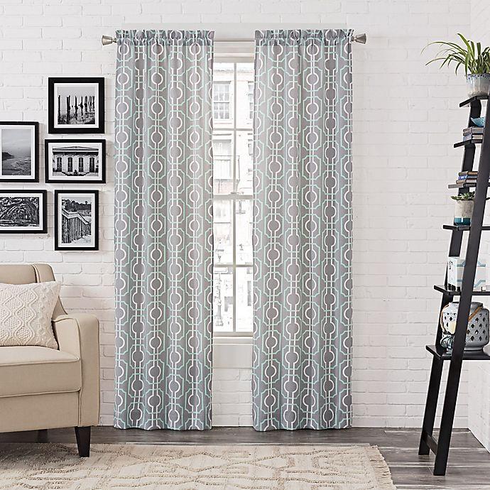 Pairs to Go™ Arlene Rod Pocket Window Curtain Panel Pair