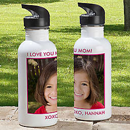 1-Photo Picture Perfect 20 oz. Water Bottle