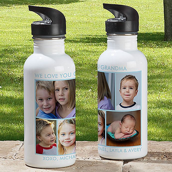 Alternate image 1 for 5-Photo Picture Perfect 20 oz. Water Bottle