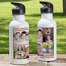 6-Photo Picture Perfect 20 oz. Water Bottle