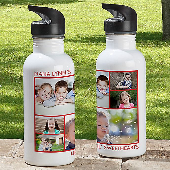 Alternate image 1 for 6-Photo Picture Perfect 20 oz. Water Bottle