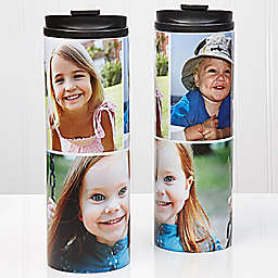 3-Photo Collage 16 oz. Travel Tumbler