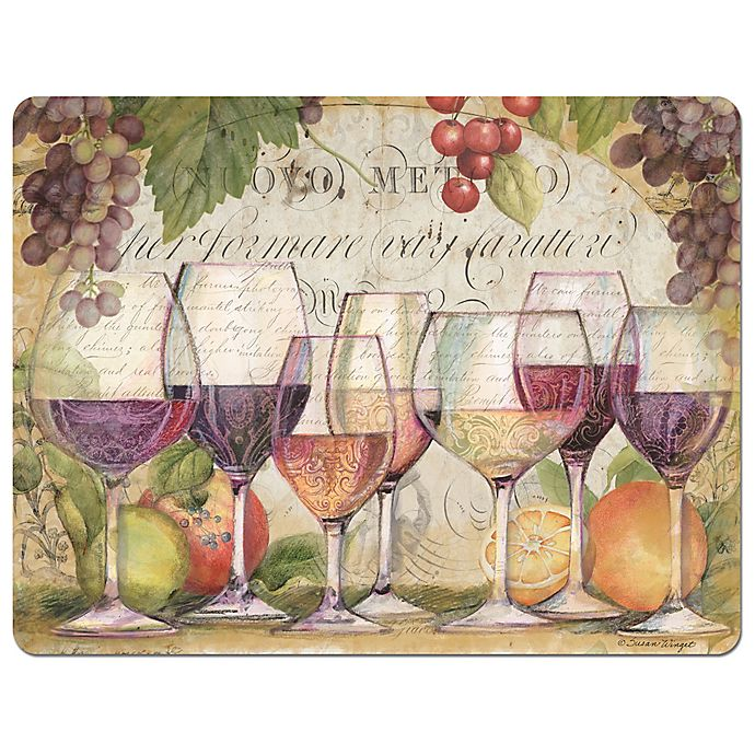 Alternate image 1 for 11.5-Inch x 15-Inch Flexible Cutting Mat in Wine