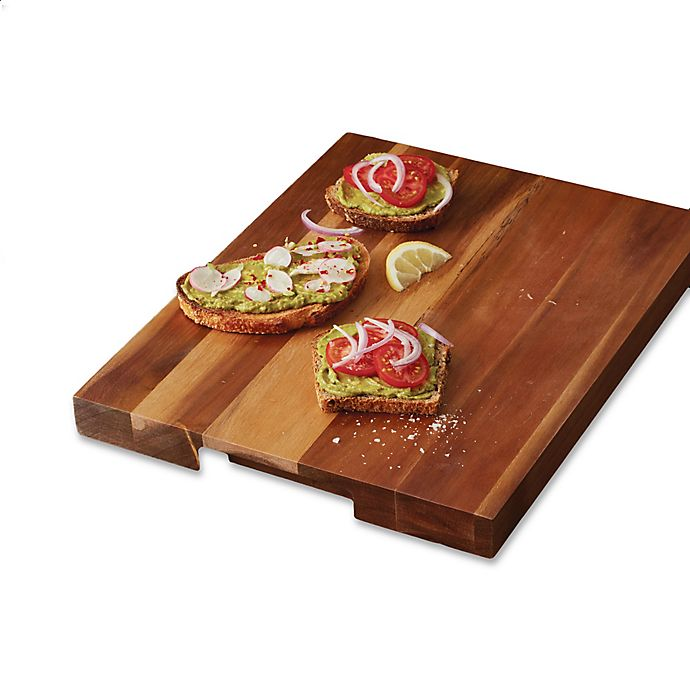 Alternate image 1 for Artisanal Kitchen Supply® Acacia Wood 18-Inch x 14-Inch Cutting Board