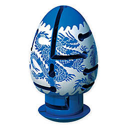 BePuzzled® Smart Egg 2-Layer Dragon Labyrinth Puzzle in Blue