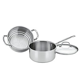 Cuisinart® Chef's Classic™ Stainless Steel 3-Piece 3 qt. Steamer Set