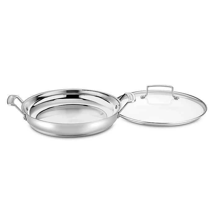 Alternate image 1 for Cuisinart® Chef's Classic™ Pro Stainless Steel 12-Inch Everyday Pan