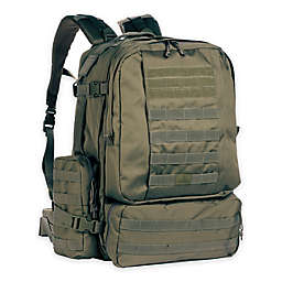 Red Rock Outdoor Gear Diplomat Backpack in Olive Drab