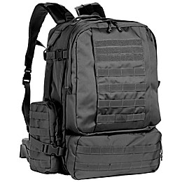 Red Rock Outdoor Gear Diplomat Backpack in Black