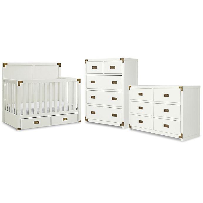 Alternate image 1 for Bertini® Wyatt Nursery Furniture Collection in Classic White