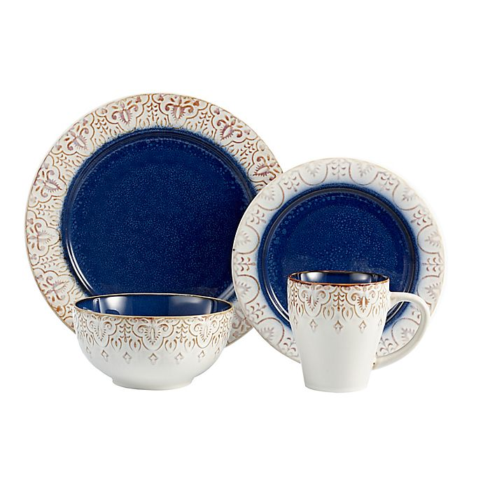 Alternate image 1 for American Atelier Granada 16-Piece Dinnerware Set