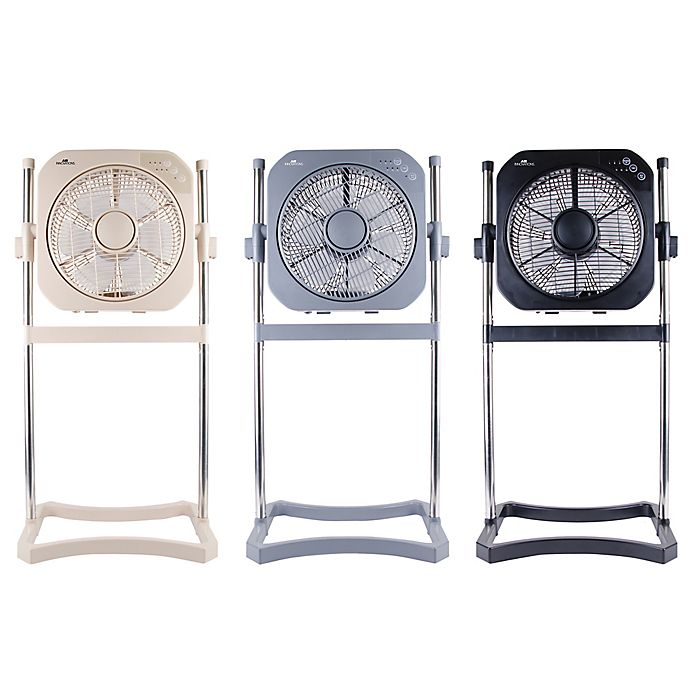 Alternate image 1 for Air Innovations 12-Inch Swirl Cool 2-In-1 Fan