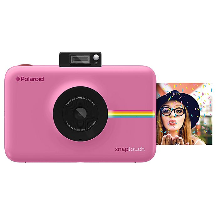 Alternate image 1 for Polaroid Snap Touch Instant Digital Camera in Blush