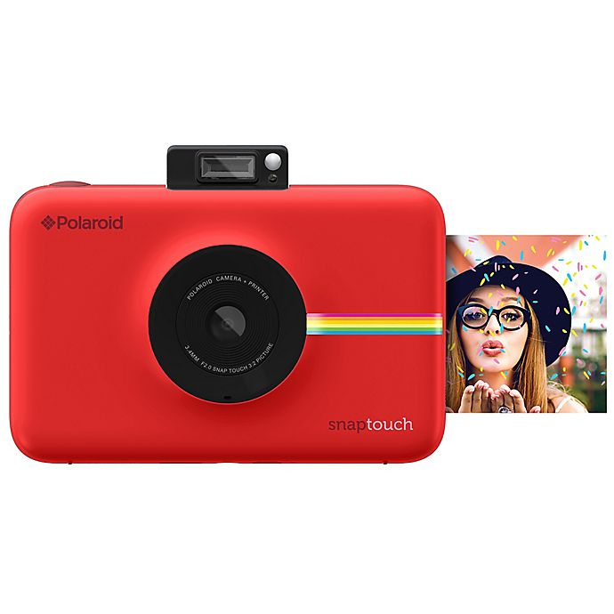 Alternate image 1 for Polaroid Snap Touch Instant Digital Camera
