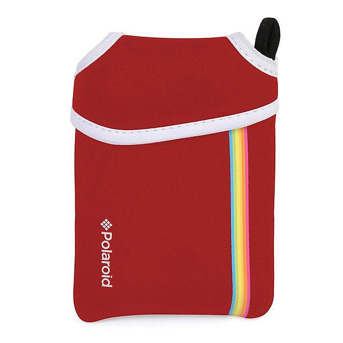 Alternate image 1 for Polaroid Neoprene Pouch for Zip Mobile Printer in Red