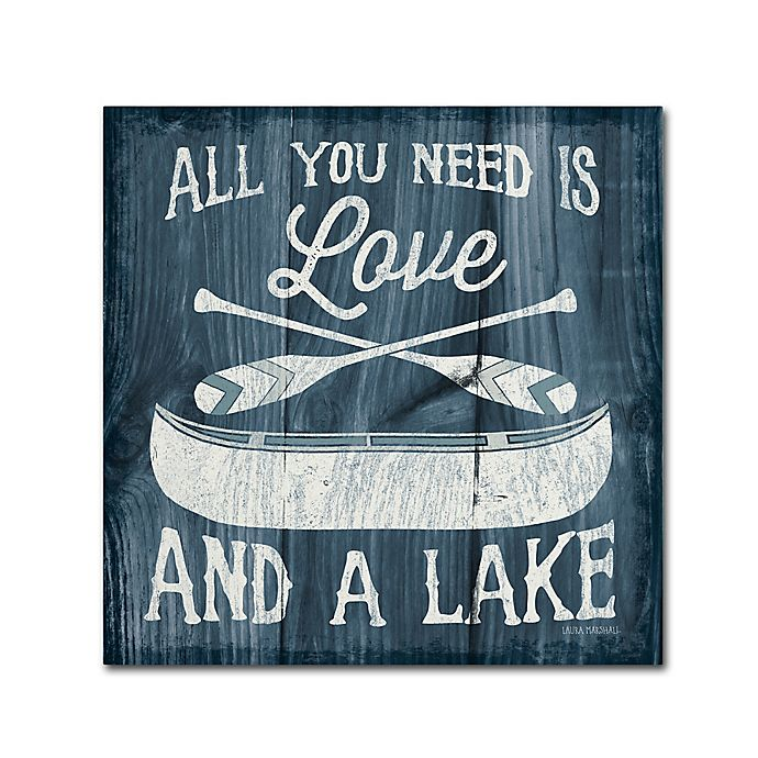Alternate image 1 for Up North I 18-Inch x 18-Inch Canvas Wall Art