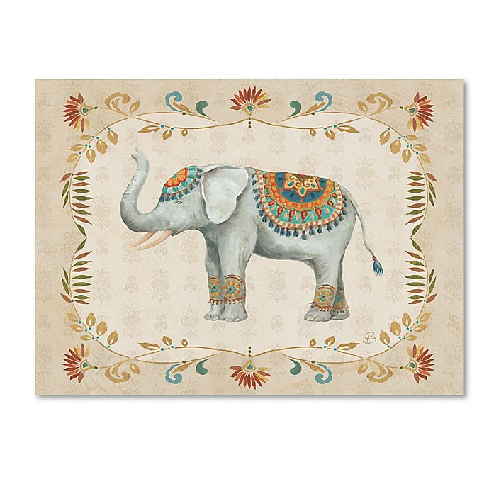 Alternate image 1 for Daphne Brissonnet 'Elephant Walk III' Canvas Wall Art