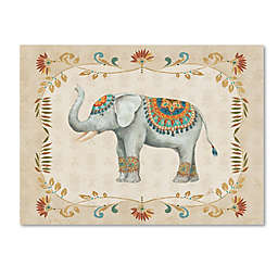 Daphne Brissonnet 'Elephant Walk III' Canvas Wall Art