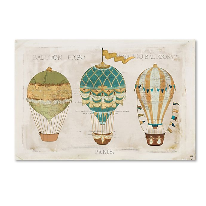 Alternate image 1 for Katie Pertiet 12-Inch x 19-Inch Balloon Expo I Canvas Wall Art