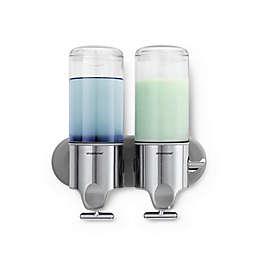 simplehuman® Double Wall Mount Pumps
