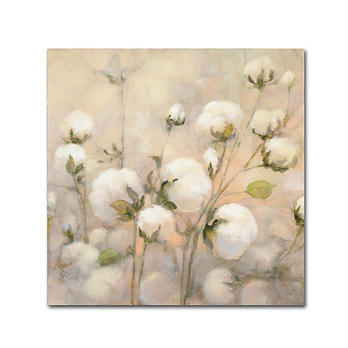 Alternate image 1 for Trademark Fine Art Julia Purinton Cotton Field Crop Canvas Wall Art