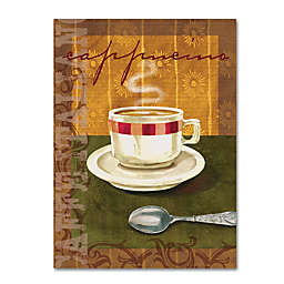 """Cappuccino"" Wrapped Canvas Wall Art"
