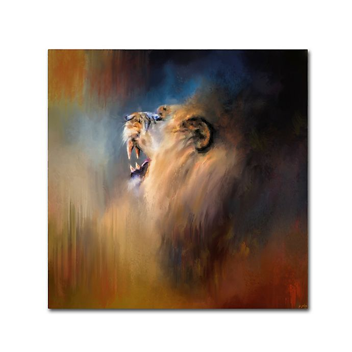 Alternate image 1 for Jai Johnson Looking For The Dentist 14-Inch x 14-Inch Canvas Wall Art
