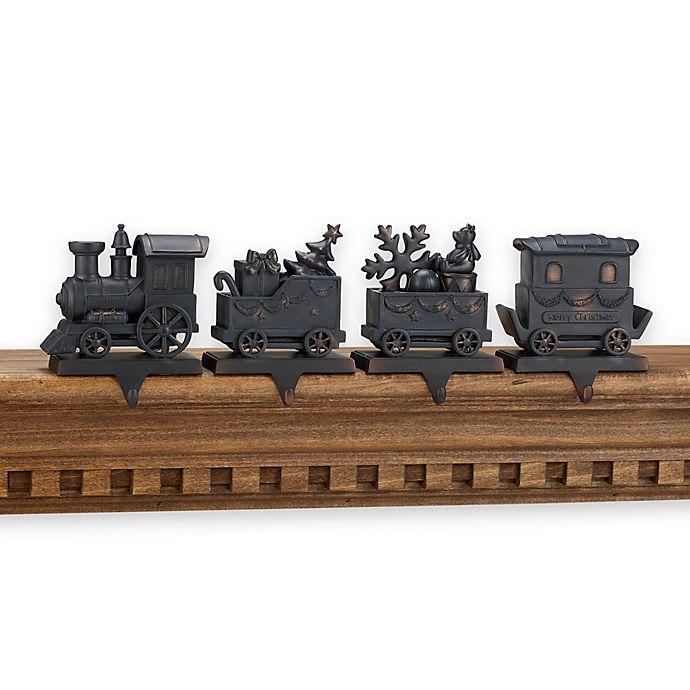 train stocking hanger set bed bath beyond. Black Bedroom Furniture Sets. Home Design Ideas