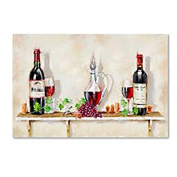 "The Macneil Studio ""Wine Shelf"" Canvas Wall Art"