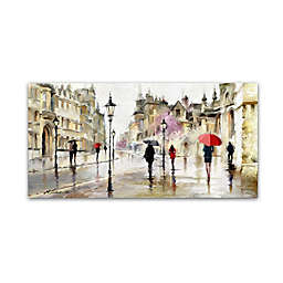 Street Walk 2 Canvas Wall Art