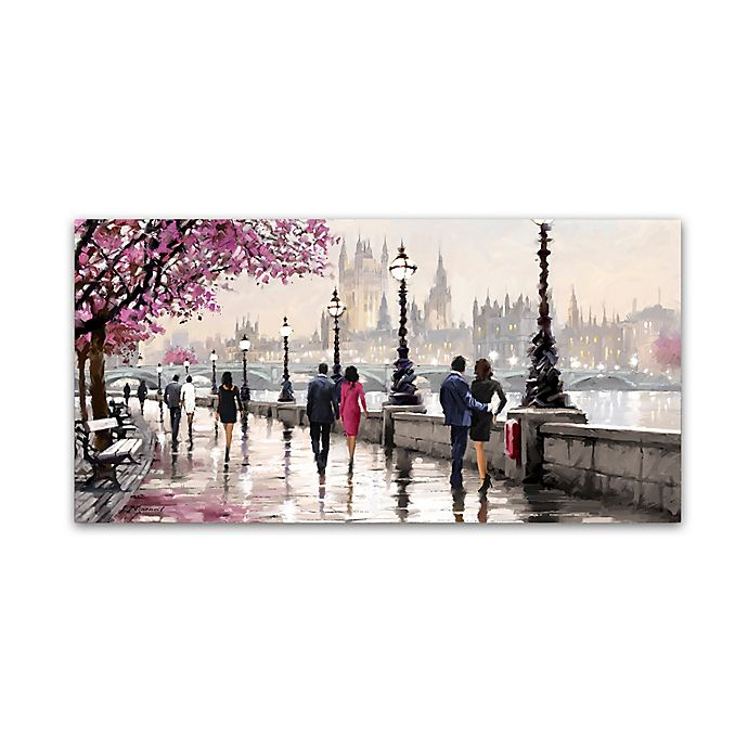 Alternate image 1 for The Macneil Studio Along the River 24-Inch x 47-Inch Canvas Wall Art