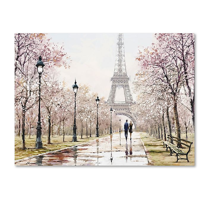 Alternate image 1 for The Macneil Studio Eiffel Tower 24-Inch x 32-Inch Canvas Wall Art