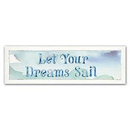 Lisa Audit Sea Life Sentiment I 16-Inch x 47-Inch Canvas Wall Art