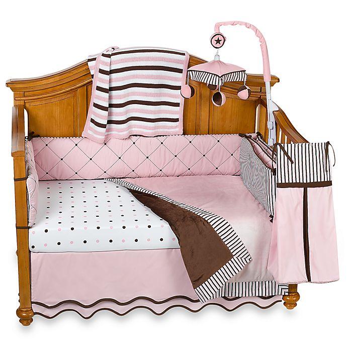 Royal Velvet Pink Crib Bedding Accessories Buybuy Baby