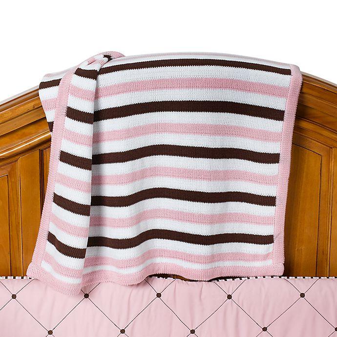 Royal Velvet Pink Knit Crib Blanket Bed Bath Beyond
