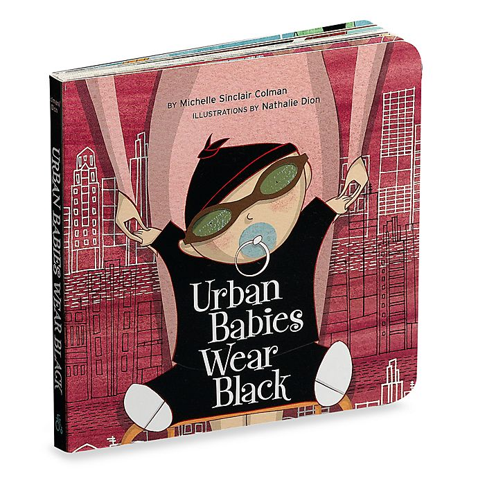 Alternate image 1 for Urban Babies Wear Black Board Book