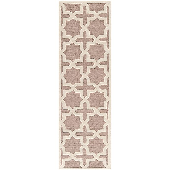 Alternate image 1 for Safavieh Cambridge 2-Foot 6-Inch x 6-Foot Ana Wool Rug in Beige/Ivory
