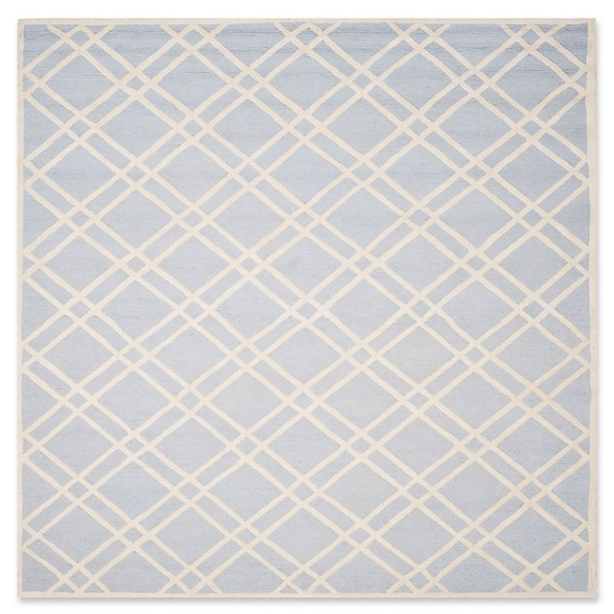 Alternate image 1 for Safavieh Cambridge 8-Foot x 10-Foot Trina Wool Rug in Light Blue/Ivory